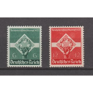 DR 1935, Mich.-Nr.: 571+572 **
